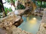 refreshing splash pool