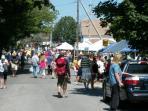 Lobster festival craft fair