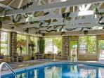 Indoor pool and several outdoor pools