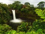 Rainbow Falls at its best in the morning