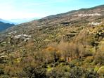 This is a lovely view of Atalbeitar and other villages and its a delightful level walk from home.