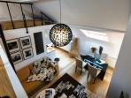 Mezzanine Bedroom / Living Room