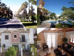 award winning complex Puebla Aida and our beautiful house Casa Sara.
