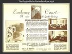 Original 1930's brochure for Embassy Court apartments