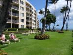 The Royal Mauian is positioned on a lava outcropping between two of the nicest beaches on Maui.