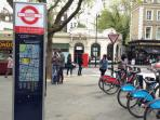 Bicycles rental (4 minutes walk from flat)