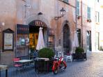 Cafe in Tuscania