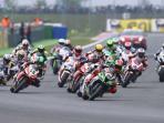 Campeonato de mundo de motociclismo.