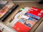 COMPLIMENTARY BROCHURES  AND CITY MAP