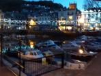 Dartmouth at night