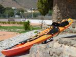 Kayak doble de uso gratuito