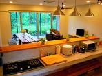 Full equipped open concept kitchen