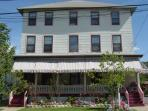 Harvard Apartments is located on a quiet residential street in the Historical section of Cape May.