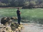Fishing at the Sacramento River