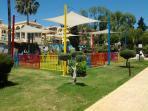 Parque Princesa Diana. Columpios.