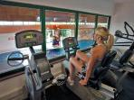 Large Fitness Suite and Beauty Day Spa