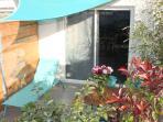 ombrage et bain de soleil sur chaque terrasse privative.