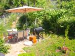 Back Terrace, Dining Table and BBQ