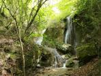 Cascadas en el Parque natural de Urbasa - Andia