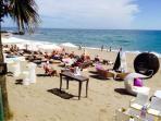 Nearby Maui beach bar on Mojacar Playa