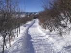 Storm Meadows Club Ski-Out Trail