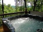 Hottub with a view