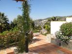 Finca Montañas y Mar/Casa Jazmin : Amazing view from your own and private terrace