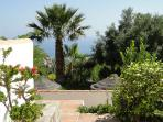 Finca Montañas y Mar/Casa Jazmin : Amazing view to the Mediterranean from the terrace