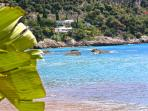 Villa E-1027 by Eileen Gray open to visits by appointment only from May  Roquebrune. Also beach.