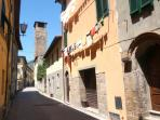 Nido Bianco is in the heart of the Medieval village