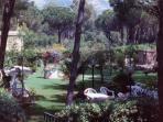 il giardino per rilassamento e svago