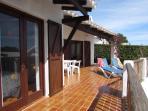 Main terrace, terrace forniture, sunbeds