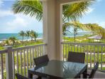 ocean views from the 2nd floor balcony,