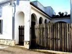 facciata casa veranda