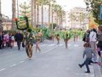 Party, Fiesta, join in or simply watch the parade dance through the street