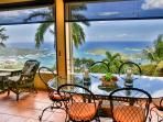 Terrace dining at Southwind Villa