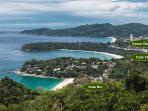 Beaches: Kata Noi, Kata Yoi, Karon Beach