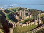 Dover Castle, 35 minutes away
