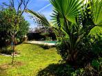 Villa Gari, the garden is 1500 m2
