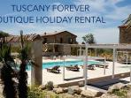 TUSCANY FOREVER GIGLIO C max 4 guest BOUTIQUE VACATION RENTAL IN VOLTERRA  swimming po