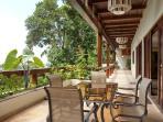 dining Veranda and view