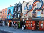 Camden Town is an eclectic mix of fun and interesting shops and people