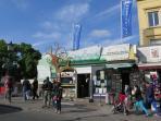 The vegan cafe, Camden Town