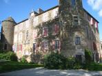 Toulouse Lautrec's childhood chateau