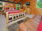 Loft Queen Bed-HDTV-Seating