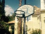 Full size basketball hoop