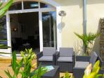 Lounge area Gite Corbieres