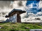 Pulnabrone dolmen - County Clare