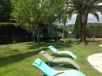New loungers to relax around the pool
