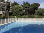piscine de la copropriété